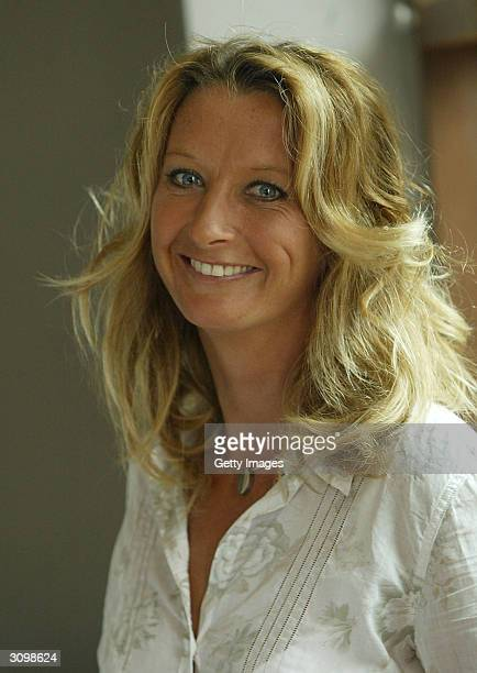 Alternative Sportsperson of the Year Nominee Australian Surfer Layne Beachley poses for a photograph during the 2004 Laureus World Sports Award...