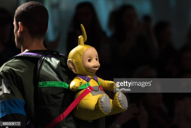 Alternative view of 'Bobby Abley's' runway show during the London Fashion Week Men's June 2017 collections on June 12 2017 in London England