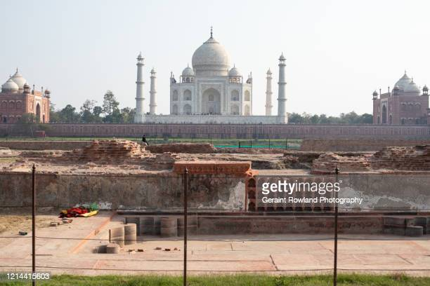 alternative view of the taj mahal - celebrity death stock pictures, royalty-free photos & images