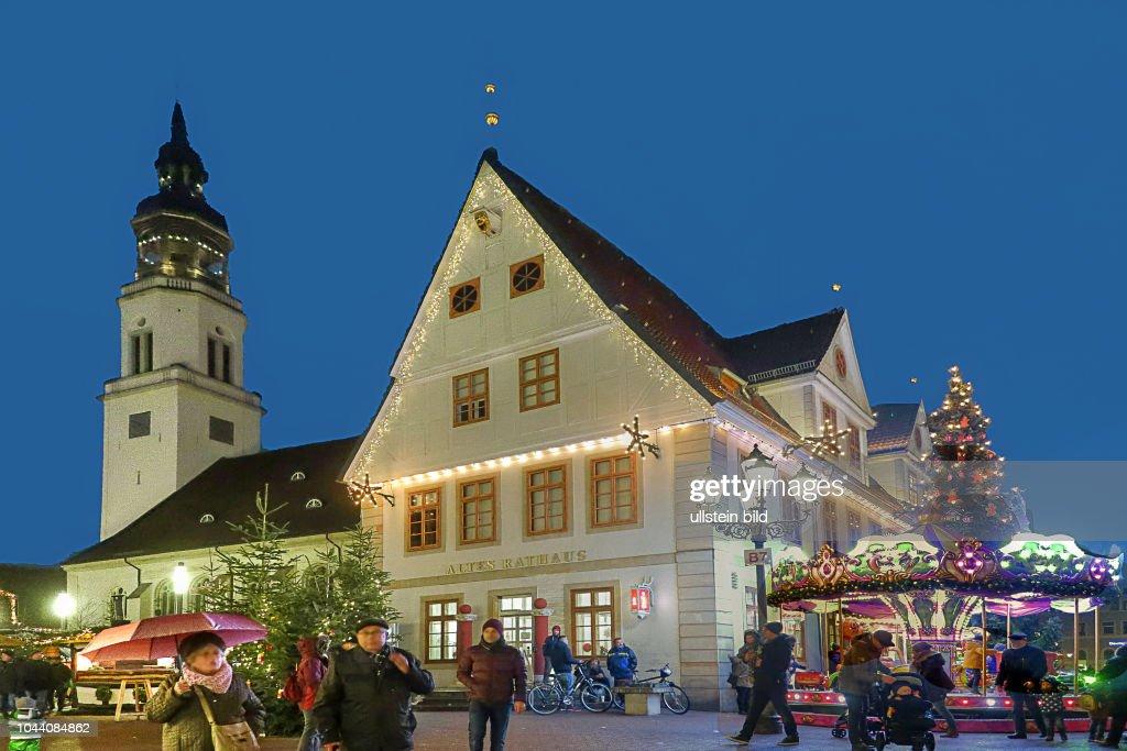Weihnachtsessen Celle.Altes Rathaus Sowie Die Stadtkirche In Celle Zu Weihnachten News