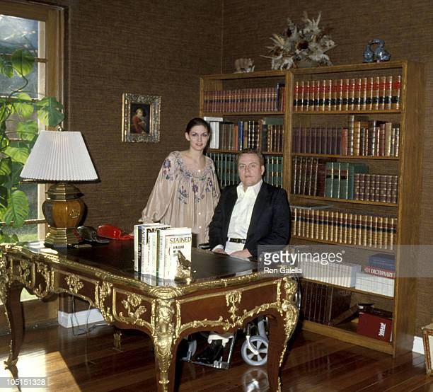 Althea Flynt and Larry Flynt during Exclusive Photo Session in the Flynt home - March 11, 1979 at Flynt Home in Los Angeles, California, United...