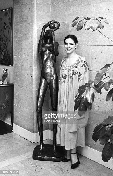 Althea Flynt during Exclusive Photo Session in the Flynt home March 11 1979 at Flynt Home in Los Angeles California United States