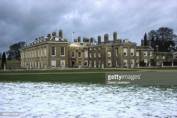 Althorp House in Althorp Northamptonshire in January 1981 Althorp was the birthplace and childhood home of Lady Diana Spencer later Princess Diana
