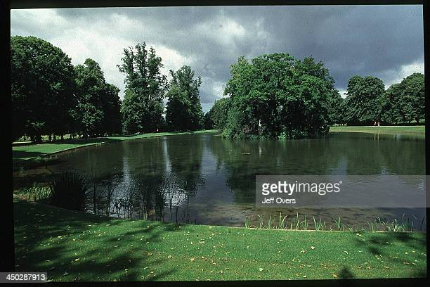 Althorp House Northamptonshire Diana Princess of Wales Burial site and lake