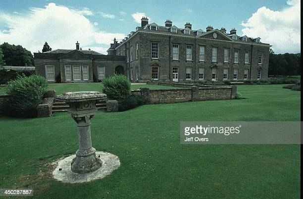 Althorp House, Northamptonshire, home of Diana Princess of Wales grave.