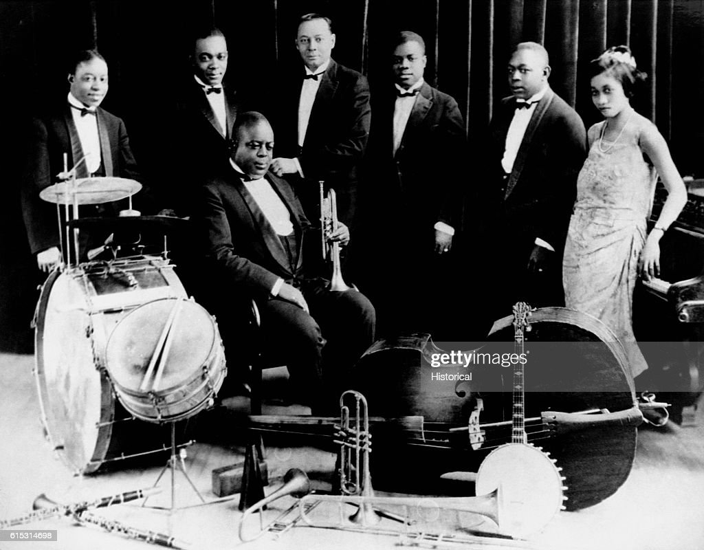 King Oliver's Creole Jazz Band : News Photo
