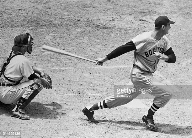 Although the Boston Red Sox dropped both games of a doubleheader to the rampaging Detroit Tigers on May 16th, Sox slugger Ted Williams awed the 42,...