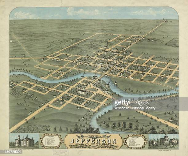 Although the first European settlement in Jefferson was in 1836 the Village of Jefferson was first incorporated as a city in 1878 Jefferson Wisconsin...