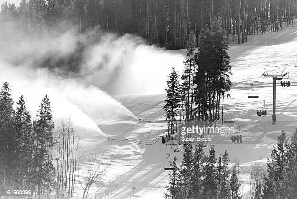 JAN 11 1987 Although the high country has been blessed with new snowfall it inset enough to make up for lake of snow in December and areas are...