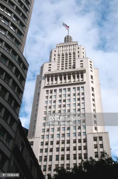 Altino Arantes Building, better known as Banespa building in Sao Paulo
