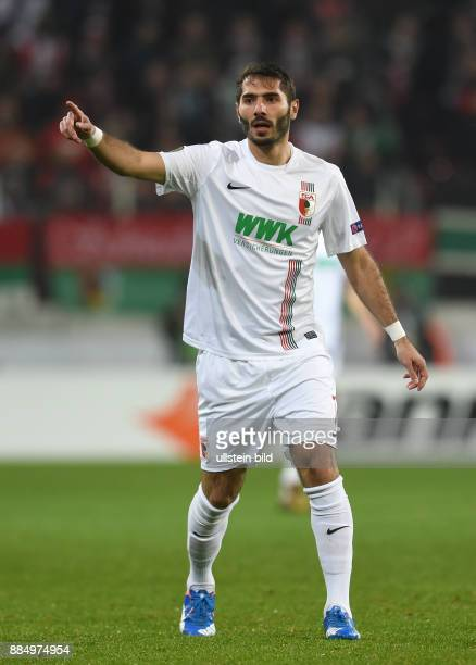 Altintop Halil Turkey soccer player FC Augsburg 1907 November 26 2015