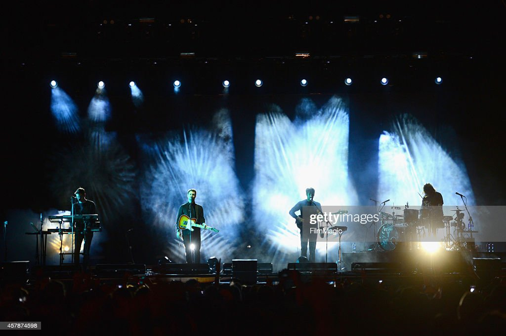 alt-J performs onstage during day 2 of the 2014 Life is Beautiful iestival on October 25, 2014 in Las Vegas, Nevada.