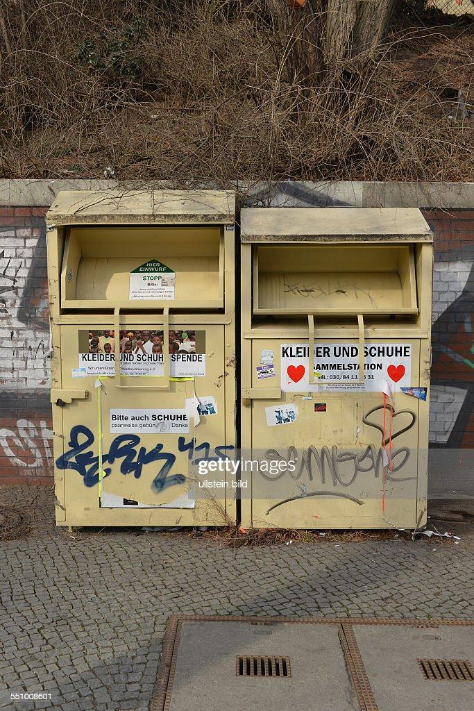 Altkleider container berlin schoneberg