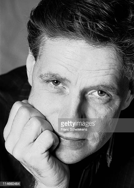 Alto sax player and composer Paul Termos posesd in Amsterdam, Netherlands on 17th August 1997.