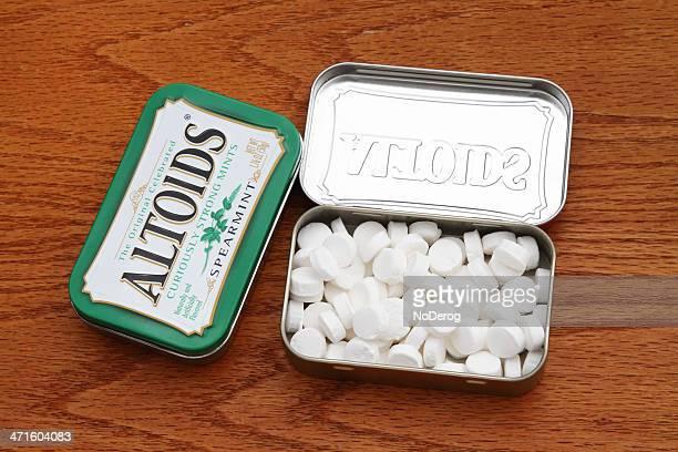 Altoids kurios starke Pfefferminzbonbons