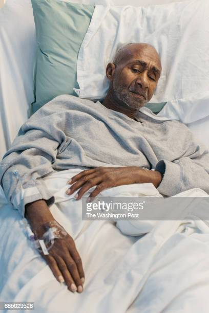 Alton Batiste in the nursing unit of the Louisiana State Penitentiary in Saint Francisville Louisiana on April 26 2017 Batiste has served 50 years in...