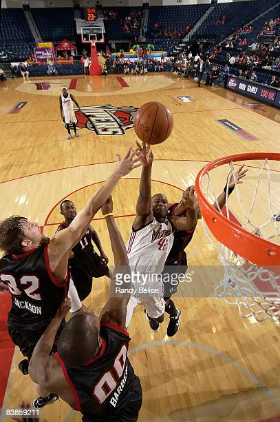 Alton Ford of the Rio Grande Valley Vipers goes to the basket during the NBA DLeague game against the Utah Flash on November 29 2008 at the Dodge...