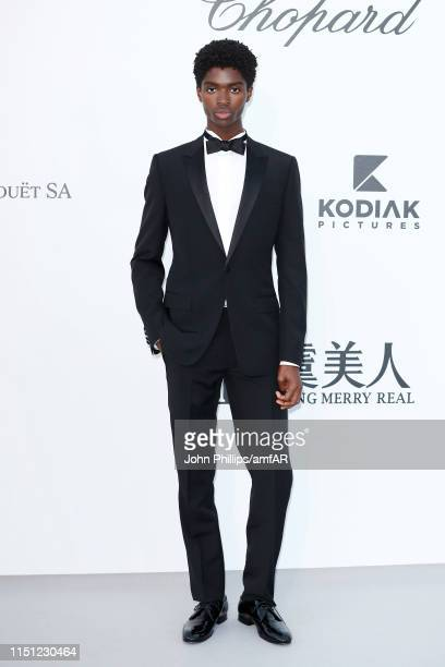 Alton Mason attends the amfAR Cannes Gala 2019 at Hotel du CapEdenRoc on May 23 2019 in Cap d'Antibes France