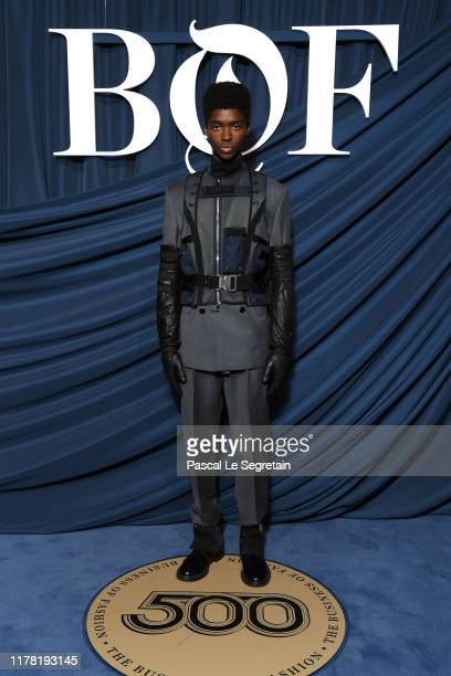 Alton Mason attends the #BoF500 gala during Paris Fashion Week Spring/Summer 2020 at Hotel de Ville on September 30 2019 in Paris France
