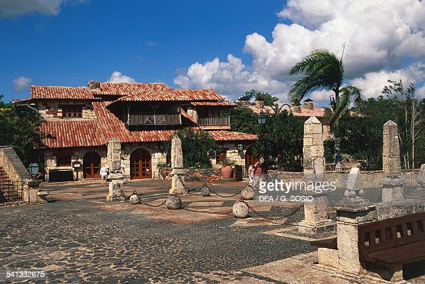 Altos de Chavon reconstruction of a medieval European village created by the Paramount Pictures set designer Roberto Cup and industrialist Charles...