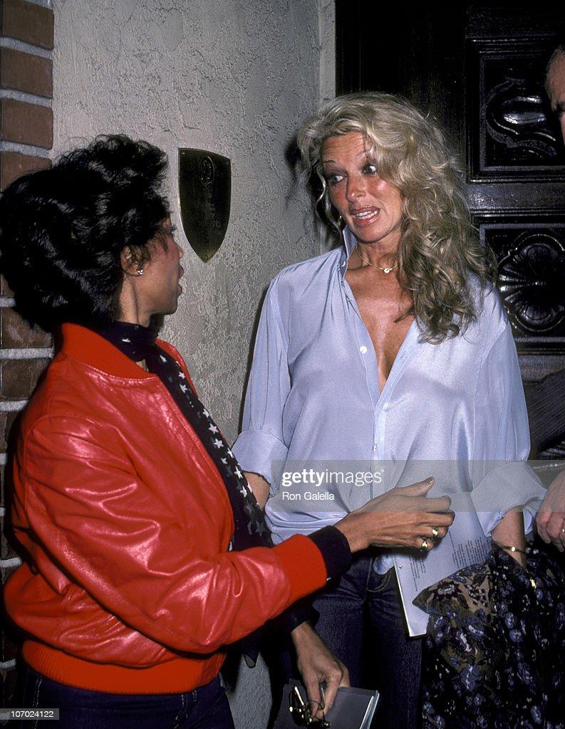 Dani Janssen and Altovise Davis at La Scala in Beverly Hills - February 12, 1981 : News Photo