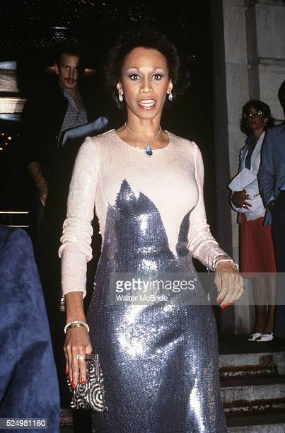 Altovise Davis at the Plaza Hotel in New York City on June 20 1980