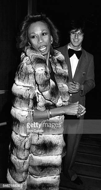 Altovise Davis attends Dreamgirls Opening on March 20 1983 at Desilu Studios in Hollywood California