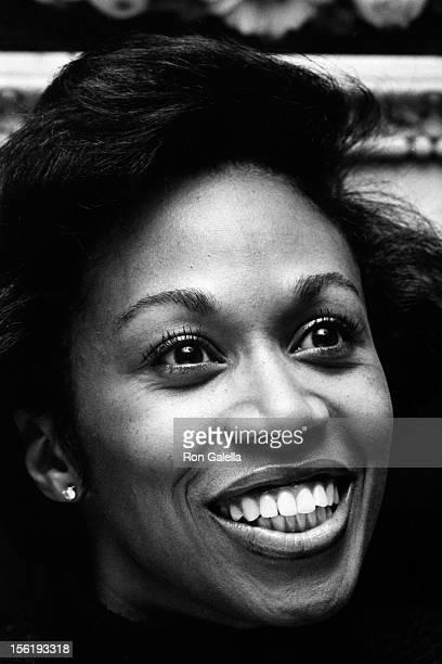 Altovise Davis attends Sammy Davis Jr Press Conference on October 4 1976 at the White Elephant in London England