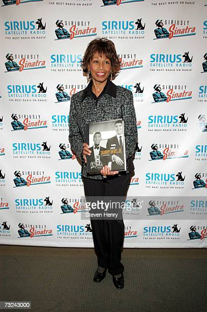 Altovise Davis attends the Sirius Satellite Radio launch of the Siriusly Sinatra Channel at the Sirius office in Manhattan on February 7 2007 in New...