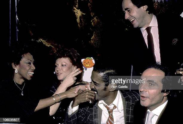 Altovise Davis Regine Sammy Davis Jr and Guests