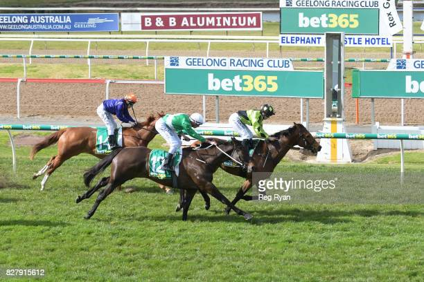 Altro Mondo ridden by Georgina Cartwright wins the Geelong Homes Maiden Plate at Geelong Racecourse on August 09 2017 in Geelong Australia