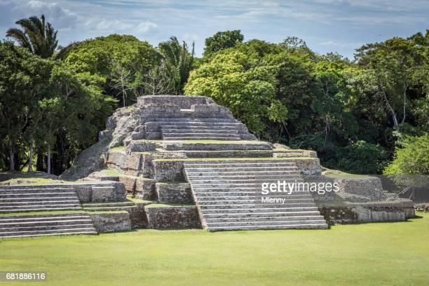 Altun Ha tombe Maya Belize
