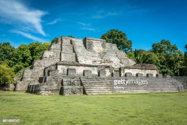 Altun Ha Maya Temple mégalithique Belize