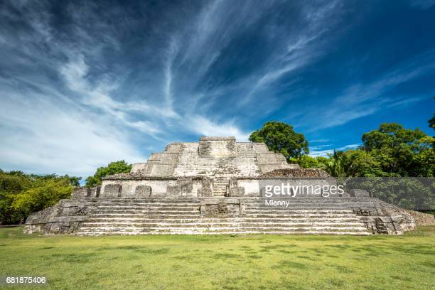 Altun Ha Temple of the Sun God Belize
