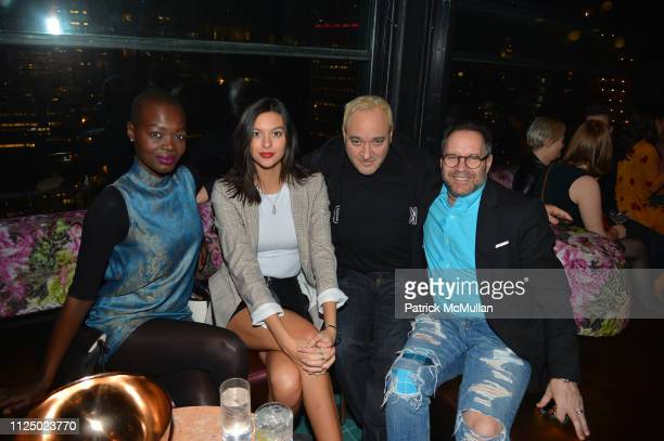 Aluad Anei Caroline Gill Gregg Bello and Craig Lawrence attend Samuel Goldwyn Films With The Cinema Society Host The After Party For Mapplethorpe at...