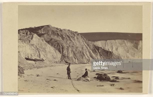 Alum Bay, Isle of Wight, Brown & Wheeler, 1865-1866, Albumen silver print.