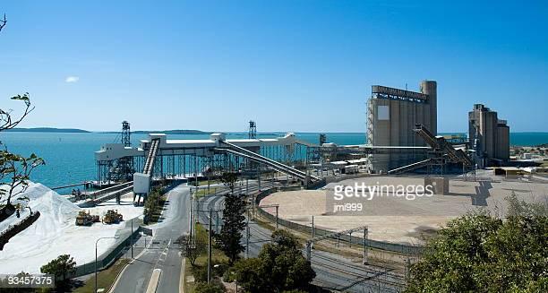 Aluminium Mining Port, Gladstone, Queensland, Australia