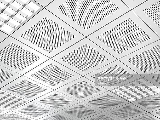 Aluminium-Einsatz in der Decke hängende