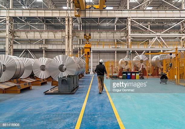 aluminium processing plant - alumínio - fotografias e filmes do acervo