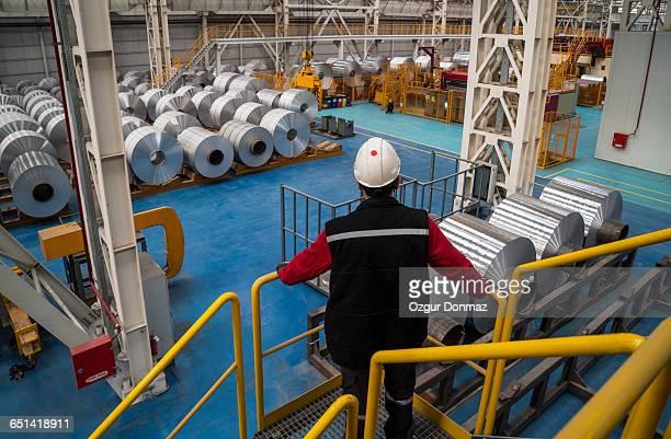 Aluminium processing plant