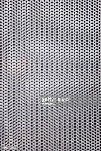 Aluminium sheet, (full frame), close-up