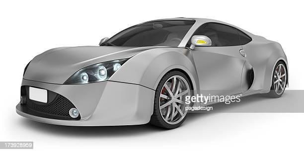 aluminium und supercar