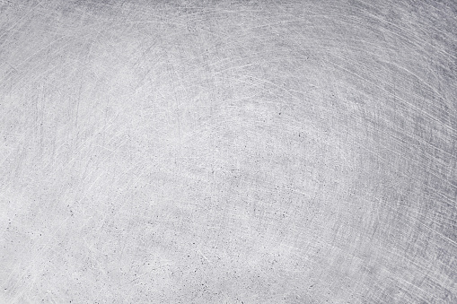 aluminium texture background, scratches on stainless steel. 1124382090