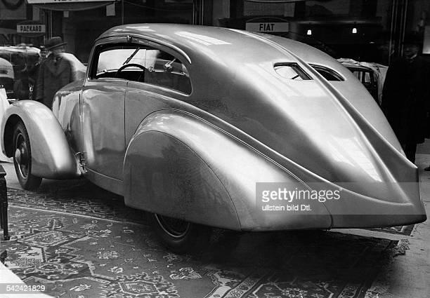 AluminiumStromlinier auf 17 l MercedesBenz Chassisveröffentlicht BZ Foto Hans Henschke