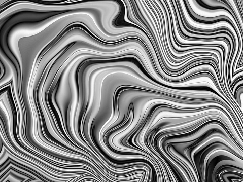 Aluminum abstract silver stripe marbled shape background - gettyimageskorea