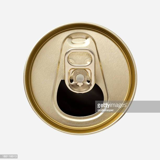 Aluminum Drink Can top with ring pull
