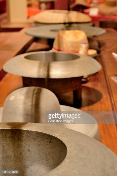 Aluminum Forms for Felt Hats Museo Del Cappello Montappone Italy