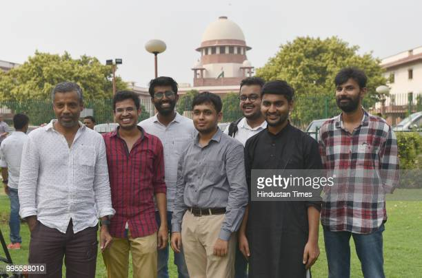 Alumni Anand Vasudevan not among the petitioners Krishna Reddy Medeikonda Romel Barel Avnesh Pokkuluri Anurag Kalia Akhilesh Godi are among the 20...