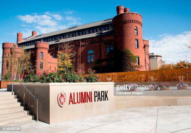 Alumni Park beside the Red Gym on the campus of the University of Wisconsin Madison