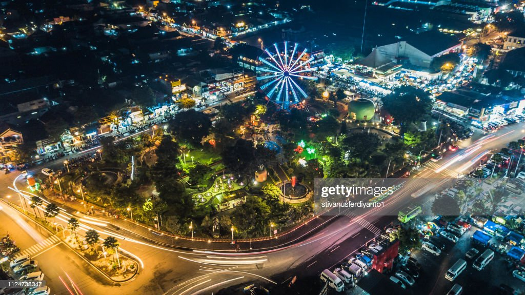 Alun Alun Kota Batu Malang East Java Indonesia High Res Stock Photo Getty Images